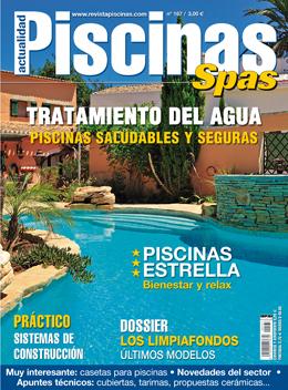 Somos portada de la revista Piscinas