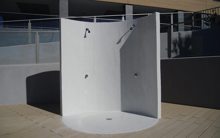 Différents modèles de douche