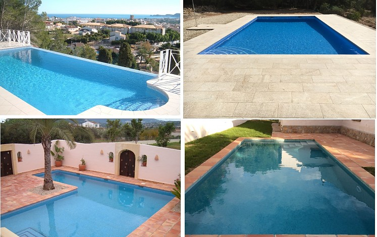 Gallery of swimming pool images
