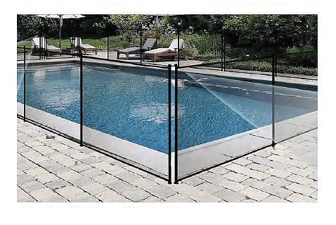 La sécurité de la piscine